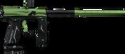 Empire Axe 2.0 Paintball Gun - Black and Green - Ship Global!