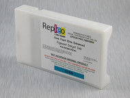 Repleo Recycled 220 ml Cartridge for the Epson Pro 7800/9800 filled with Cave Paint Elite Enhanced pigment ink - Cyan