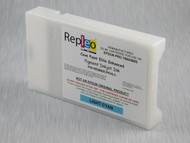 Repleo Recycled 220 ml Cartridge for the Epson Pro 7800/9800 filled with Cave Paint Elite Enhanced pigment ink - Light Cyan
