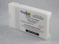 Repleo Recycled 220 ml Cartridge for the Epson Pro 7800/9800 filled with Cave Paint Elite Enhanced pigment ink - Matte Black
