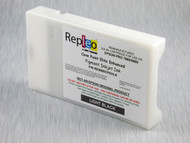 Repleo Recycled 220 ml Cartridge for the Epson Pro 7880/9880 filled with Cave Paint Elite Enhanced pigment ink - Light Black