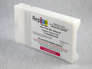 Repleo Recycled 220 ml Cartridge for the Epson Pro 7880/9880 filled with Cave Paint Elite Enhanced pigment ink - Vivid Magenta