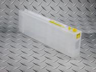 Epson SureColor T3000, T3270, T5000, T5270, T5270D, T7000, T7270, T7270D 700 ml empty refillable cartridge - Yellow
