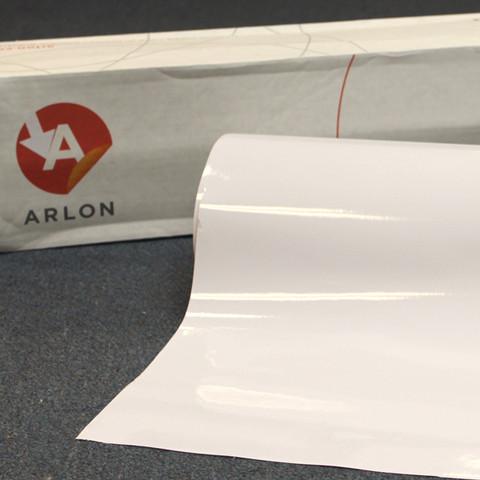 White Arlon Sign Vinyl