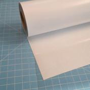 """White Siser Glitter 20"""" Roll (Click for Lengths)"""