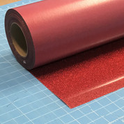 "Red Siser Glitter 20"" Roll (Click for Lengths)"