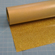 """Gold Siser Glitter 20"""" Roll (Click for Lengths)"""