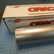 """Silver Metallic Oracal 651 Sign Vinyl 24"""" Wide (select length)"""