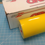 """Yellow Oracal 651 Sign Vinyl 24"""" Wide (select length)"""