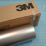 "Silver 24"" Roll of 3M ScotchCal Series 50 Sign Vinyl"