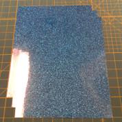 "Aqua Siser Glitter Three (3) 10"" x 12"" Sheets"