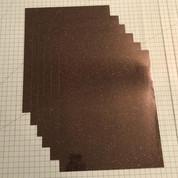 "Galaxy Black Siser Glitter Five (5) 10"" x 12"" Sheets"