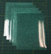 "Jade Siser Glitter Five (5) 10"" x 12"" Sheets"