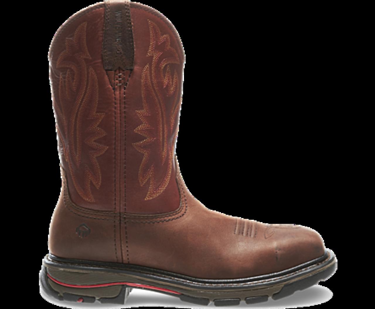 e92505c70b4 Wolverine W02780 Mens Javelina Steel-Toe Electrical Hazard Wellington Boot