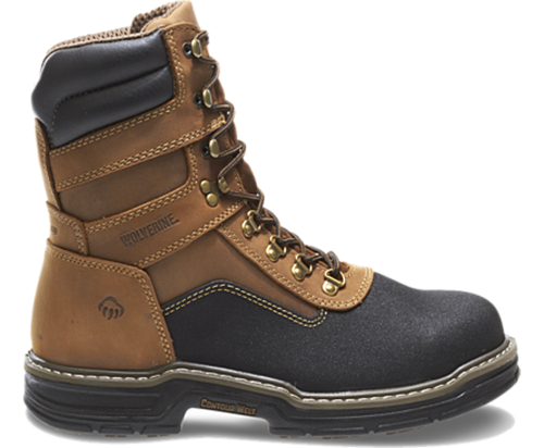 "Wolverine W02256 Mens Corsair Multishox Contour Welt ArmorTek WP 8"" CT EH Work Boot"