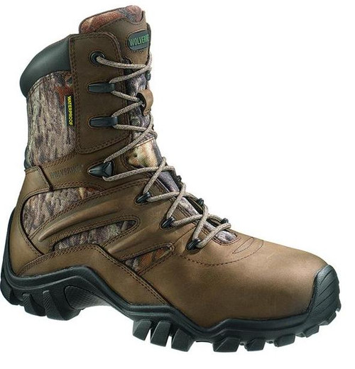 Wolverine W07924 Mens Mayhem ICS Insulated Waterproof 8 Inch Brown Boot