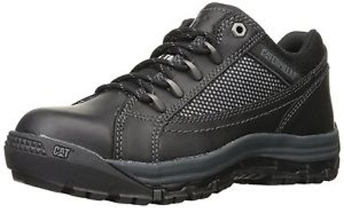 Caterpillar P90669 Womens Black Champ Steel Toe Work Shoes