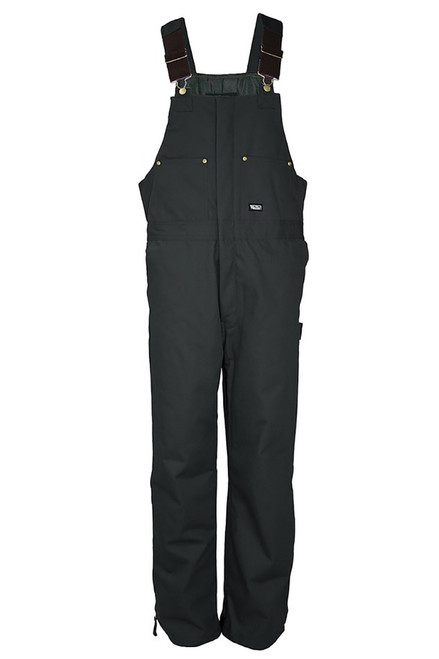 Walls WM9303BK Mens Black Insulated Heavyweight Duck Bib Overalls
