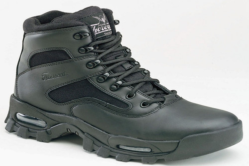Mens Thorogood Dual Density Compression Sole Black Tactical Boot