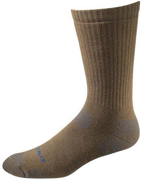 Bates Tactical Uniform Mid Calf Coyote Brown 1 Pk Socks Made in the USA