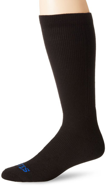 Bates Footwear Mid Calf Thermal Uniform Black 1 Pk Socks Made in the USA