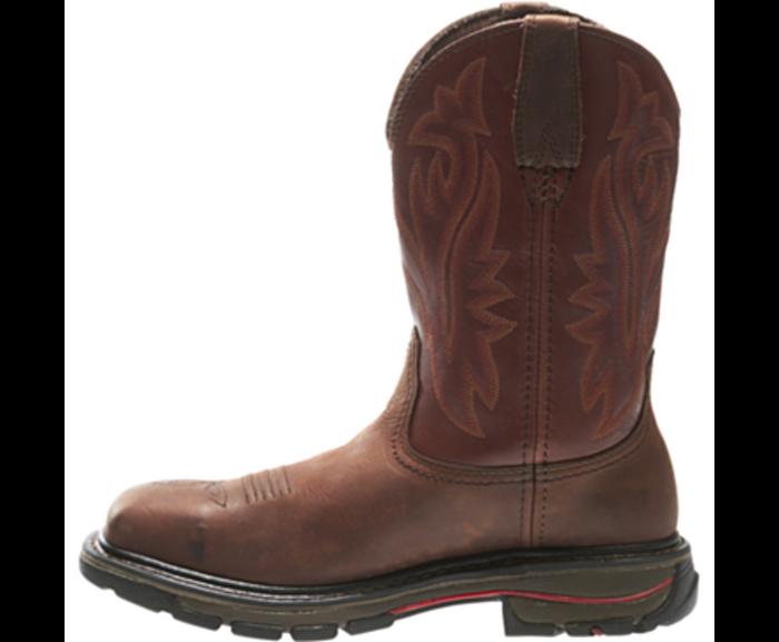 1c6586fb3ff Wolverine W02780 Mens Javelina Steel-Toe Electrical Hazard Wellington Boot