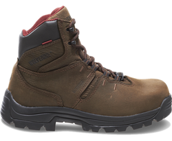 "Wolverine W04405 Mens Bonaventure 6"" Steel-Toe Electrical Hazard Waterproof Work Boot"