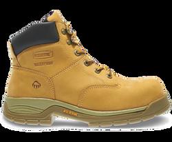 """Wolverine W05065 Mens 6"""" Harrison Waterproof Steel-Toe EH Lace-Up Boot"""