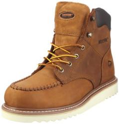 """Wolverine W09073 Mens Journeyman 6"""" Hi Nub Tan Boots"""