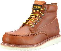 Wolverine W09093 Mens Apprentice Hi-Nubuck Honey Wedge Boot