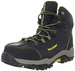 Wolverine W10075 Mens Waterproof Composite Toe Bucklin Hiking Boot