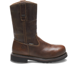 Wolverine W10084 Mens Brek Waterproof Steel-Toe Electrical Hazard Wellington Boot