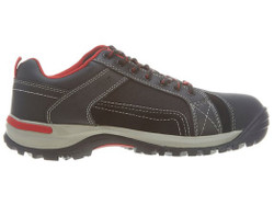 Wolverine W10241 Mens Chisel Low Steel Toe Black Work Shoe