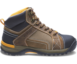 Wolverine W10242 Mens Chisel Mid-Cut Steel-Toe Electrical Hazard Work Boot