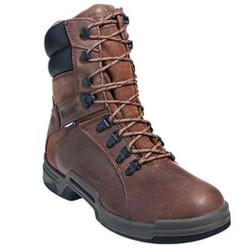 Wolverine W10216 Mens Griffin DuraShocks Waterproof Heat-Resistant Brown Boot