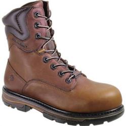 "Wolverine W10270 Mens Razorback 8"" Bronski Waterproof Leather Work Boots"