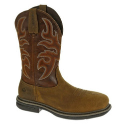 Wolverine W10380 Mens Roscoe Composite Toe DuraShocks Square Toe Wellington Boot