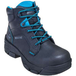 "Wolverine W10384 Womens 6"" Merlin Waterproof Composite Toe EH Work Boot"