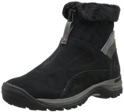 Wolverine W20217 Womens Auroras Black Front Zip Waterproof Boot
