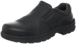 Wolverine W10191 Mens Brenner Black Slip On Work Loafer