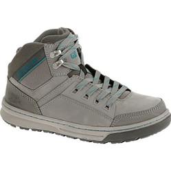 Caterpillar P90577 Womens Bevel Frost Grey Steel Toe Work Shoe