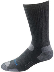 Bates Footwear Tactical Uniform Mid Calf Black 1 Pk Socks Made in the USA
