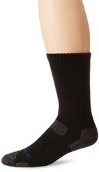 Bates Men's Tactical Mid Calf Black 1 Pk Socks Made in the USA