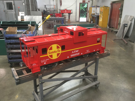 Modern Wide Vision Caboose Body Assembled Titan Trains