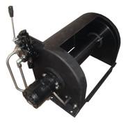 Kolstrand 14 Inch Anchor Winch - With 14 In Diameter X 16 In Wide Drum  - Model AKPAAW14D16WANO - BLACK BEAUTY