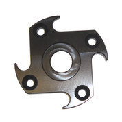 InMac-Kolstrand Heavy Duty Aluminum Drive Plate (LH Ninja Star) for MARK II Hand Gurdy