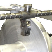 InMac-Kolstrand LongLine Stainless Steel J-Hook Carrier with Stainless Steel Roller (for Diamond Screw Level Winds)