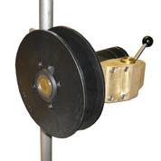 InMac-Kolstrand Single Spool Davit-Mount Power Gurdy