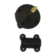 InMac-Kolstrand Nylon Mounting Flange With Brass LH Threaded Axle, S/S Pin and Nylon Cap-Sub Assembly - Piece 13RH