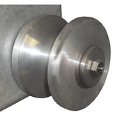 Kolstrand 17 Inch Aluminum Idler Sheave Assembly - Piece 5